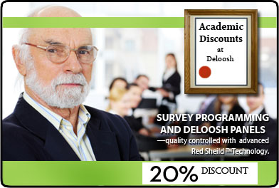 academic discounts at Deloosh